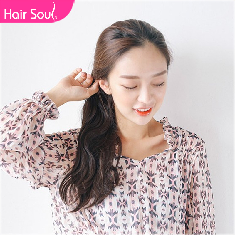 Hairsoul volume ponytail wig ponytail claw clip pear volume ponytail gripper jaws of death sen department of long ponytail