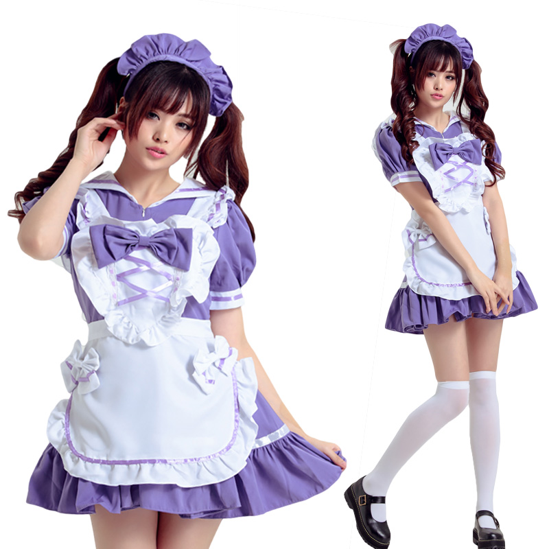 get quotations halloween costume cosplay maid outfit co s party nightclub performances princess dress lolita lolita maid outfit