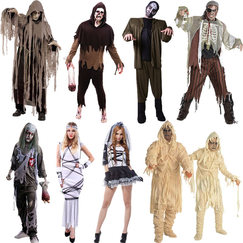 halloween costume costumes female cosplay costume male zombie horror ghost costume masquerade costume