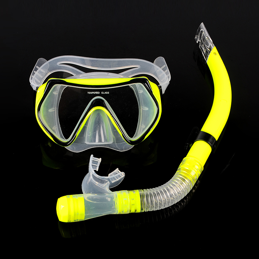 Halong wind herculite maldives diving suit snorkeling equipment snorkeling goggles semi breathing tube