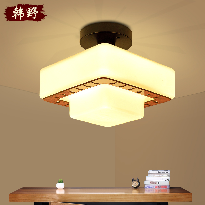 Han ye modern minimalist corridor hall aisle lights corridor lights porch lights home garden lights ceiling lights balcony