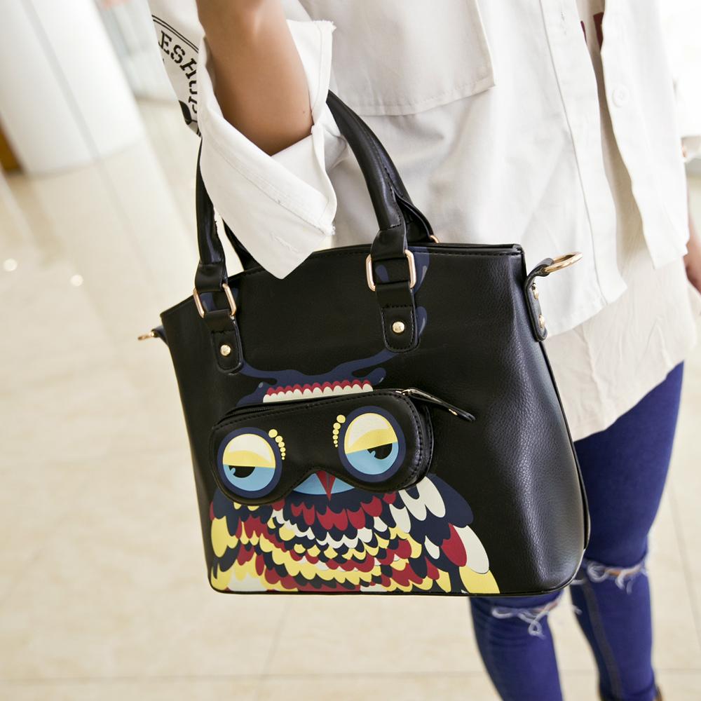 ca26e959133a Get Quotations · Handbags 2016 new spring models tide owl bag big bag  ladies bag influx of portable shoulder