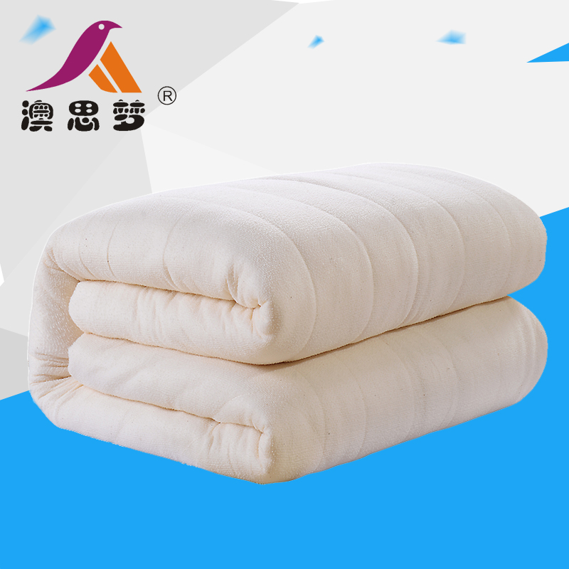 Handmade quilts xinjiang cotton long staple cotton batting is student single double thick is the core quilt custom