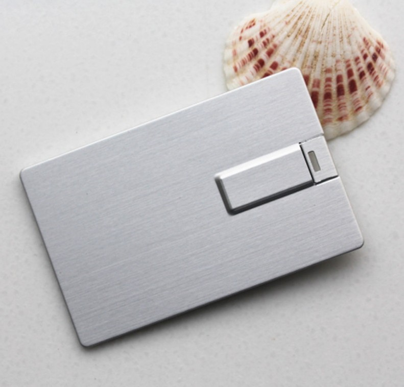 Hang palm genus aluminum card usb flash drive 3.0g u disk u disk custom personalized business cards printed corporate logo customization