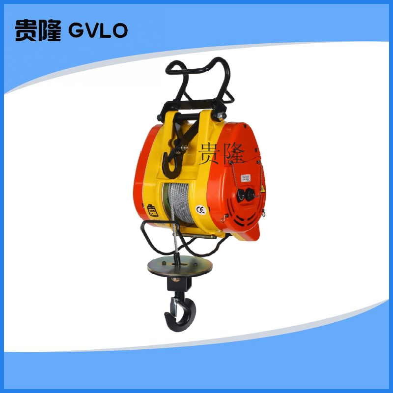 Hanging wire rope electric hoist electric hoist hoist mini portable home 220 v