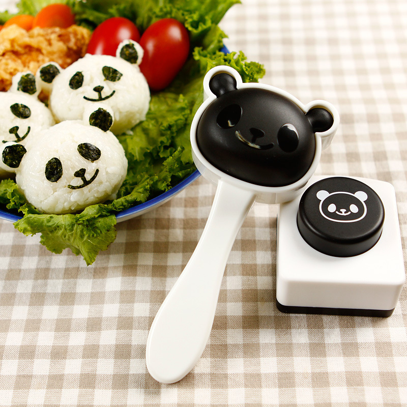Hao jie prasertsak seaweed rice mold sushi sushi tool kit cartoon embossed lunch diy mold rice bao bao