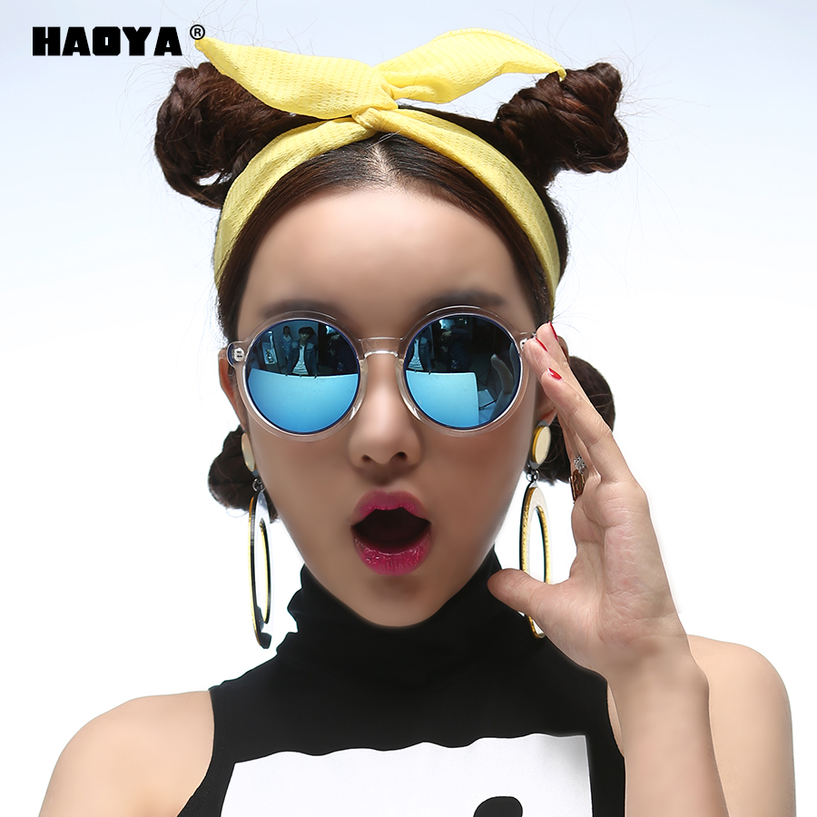 Hao ya 2016 myopia polarized sunglasses female round face and big eyes glasses personality ms. round sunglasses tide