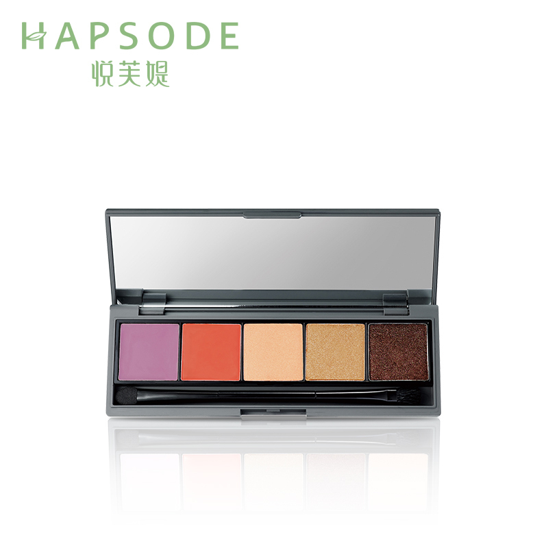 Hapsode/yue fu ti artist palette thin translucent bright color glossy lasting color