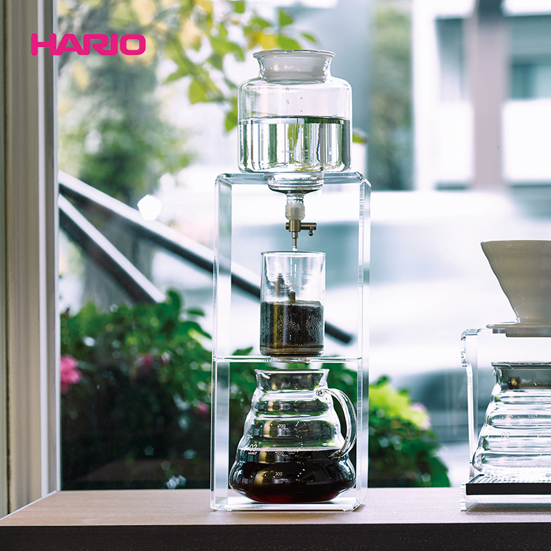 Hario japan imported coffee maker drip coffee maker kit plexiglass frame with a base wdc