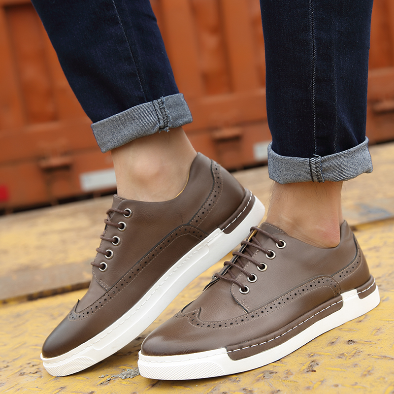 Harsh autumn men shoes tide shoes bullock british style men's casual shoes retro trend shoes casual shoes