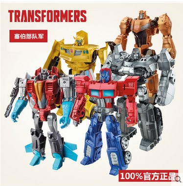 Hasbro transformers fall of cybertron optimus prime bumblebee grimlock military forces b1299/b1300/b1793