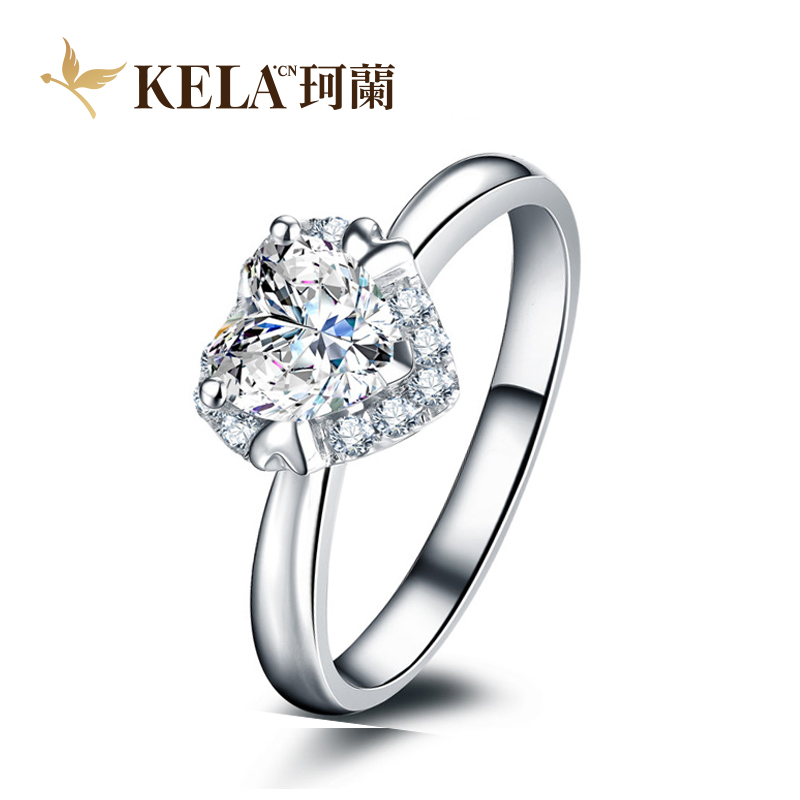 [Heart] kelan setting k gold heart ring mountings can be customized p