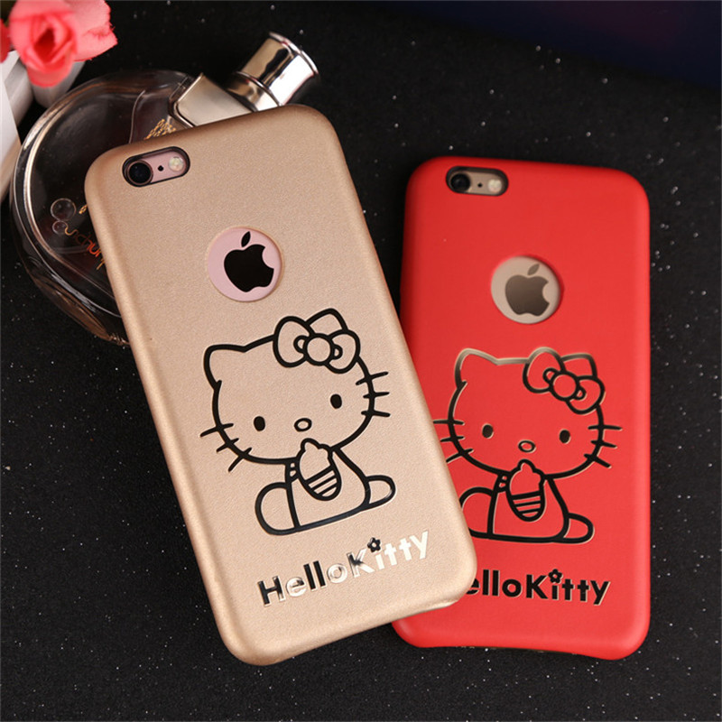 8caebdbcf Get Quotations · Hello kitty hello kitty cartoon iphone6plus plus apple  phone shell mobile phone shell protective sleeve popular