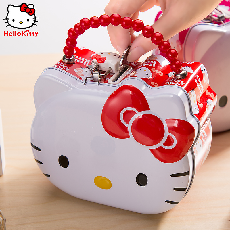 Hello kitty hello kitty modeling large capacity piggy piggy piggy creative new portable