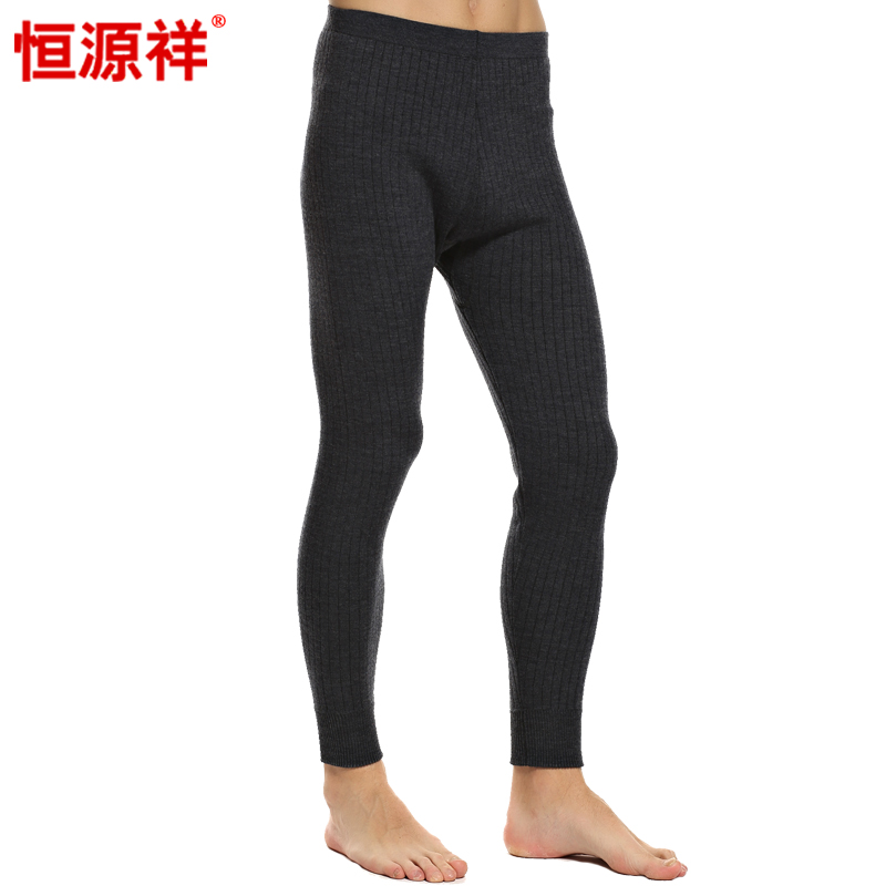 Heng yuan heng yuan xiang wool pants a couple of men's double thick leggings ms. warm pants winter trousers