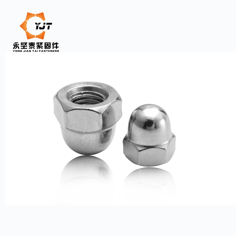 Hex nut cap nut decorative nut cap nut m3/4/5/6/8/10/12