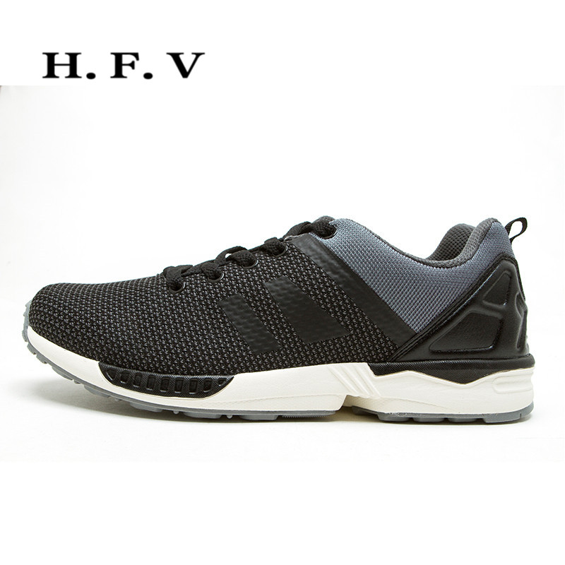 Hfv 2016 autumn new men's breathable sports and leisure shoes lace round flat with comfortable low shoes 2935