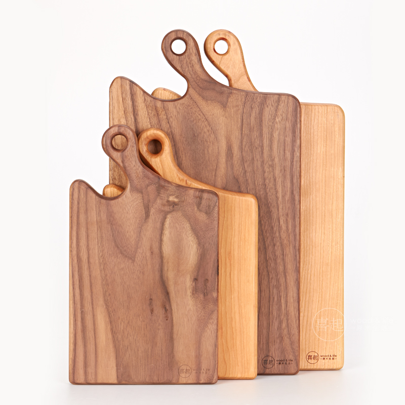 Hi hi play walnut oak logs handmade fruit cutting board cutting board cutting board chopping wood chopping board bread tray