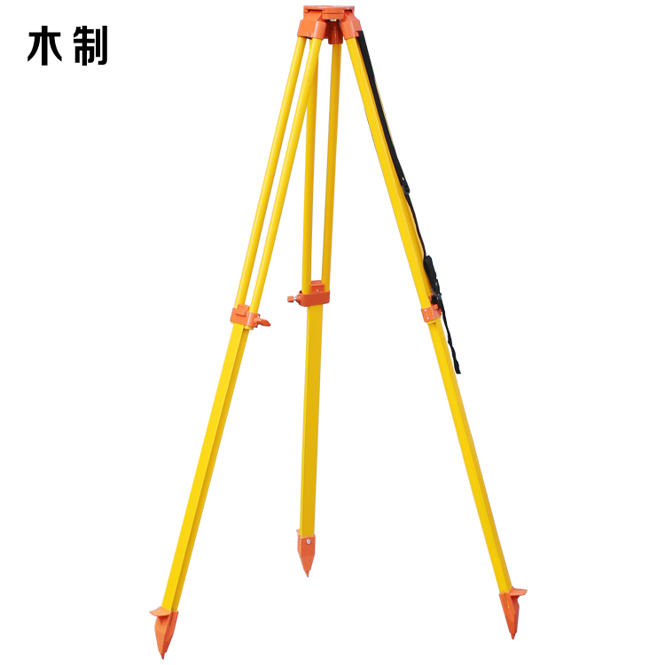 High quality level/theodolite/total station dedicated lifting tripod/wooden tripod/aluminum alloy Tripod
