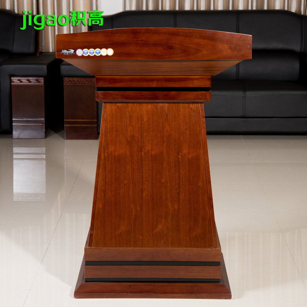 High volume office furniture, presided over taiwan podium speech reception desk reception desk hotel bienstock YJT01 museum reception table