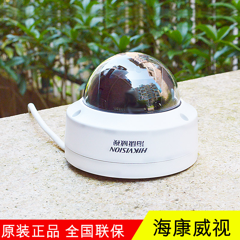 Hikvision 2 million ir dome network surveillance cameras home surveillance camera probe DS-2CD3120F-IS checkstand
