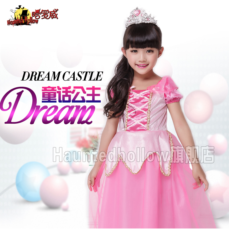 Holloway halloween halloween costume party show catwalk stage costumes children's day female princess dress a1689