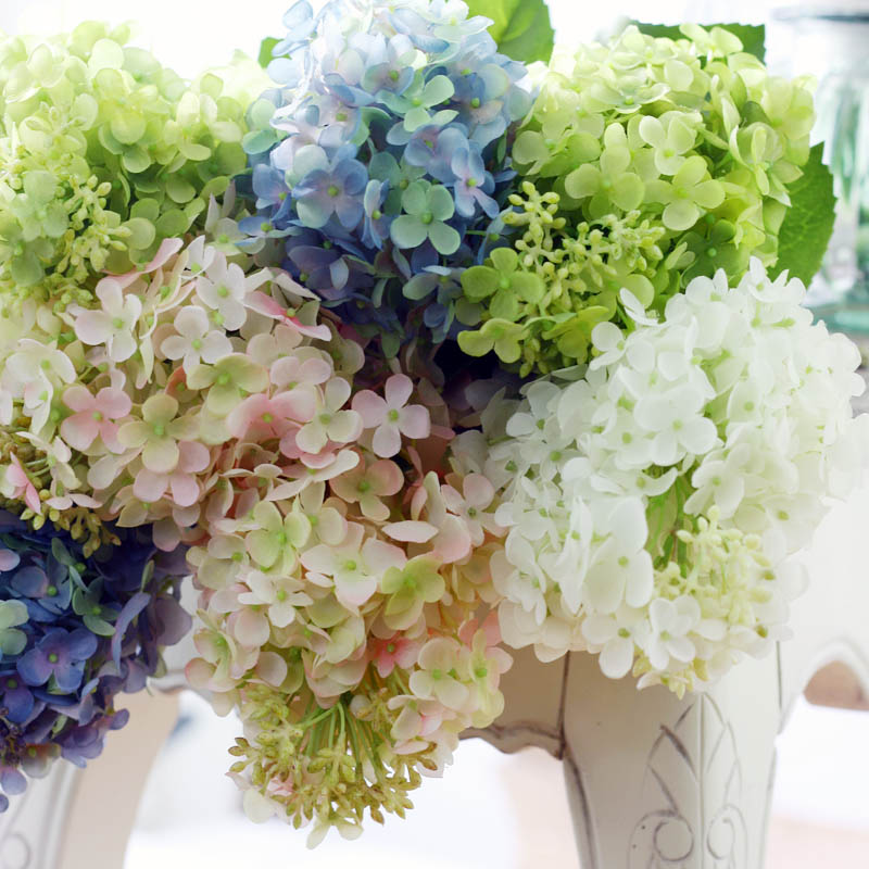 Home selling artificial flowers artificial flowers hydrangea chennai noblemen conical american living room artificial flowers silk flower hydrangea