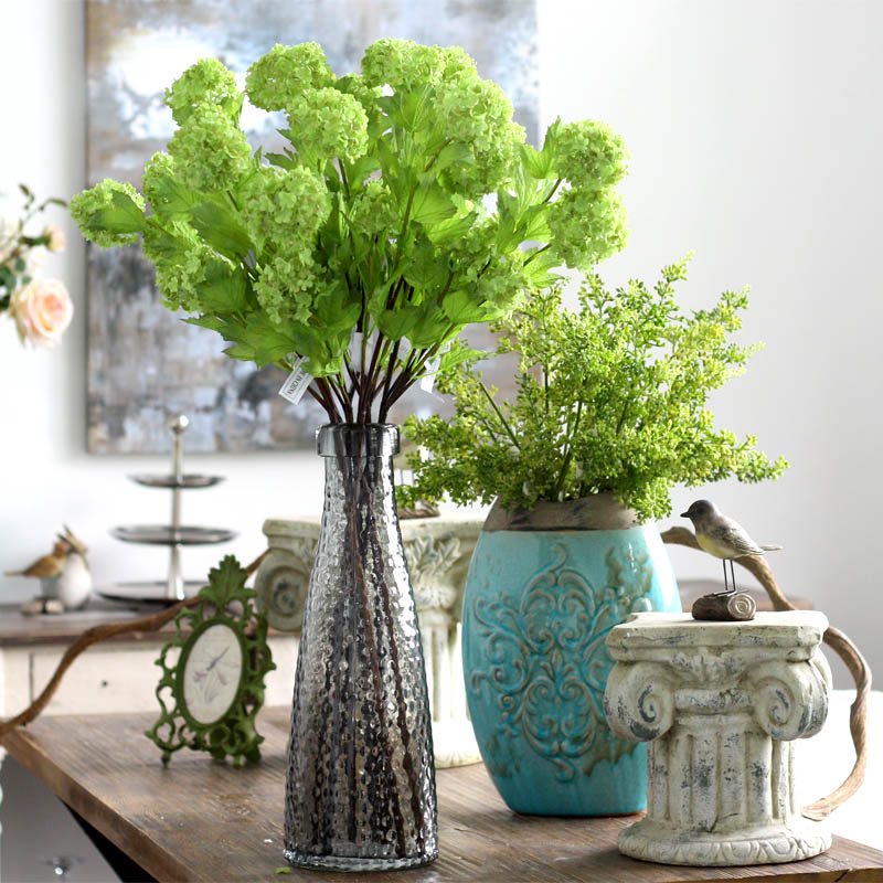 Home selling artificial flowers hydrangea artificial flowers artificial flowers european May snow hydrangea hydrangea living room floor to ceiling ornaments