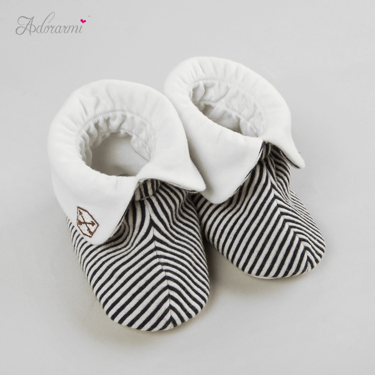 Honey love autumn and winter spring and autumn cotton baby booties newborn baby booties newborn baby socks children striped shoes