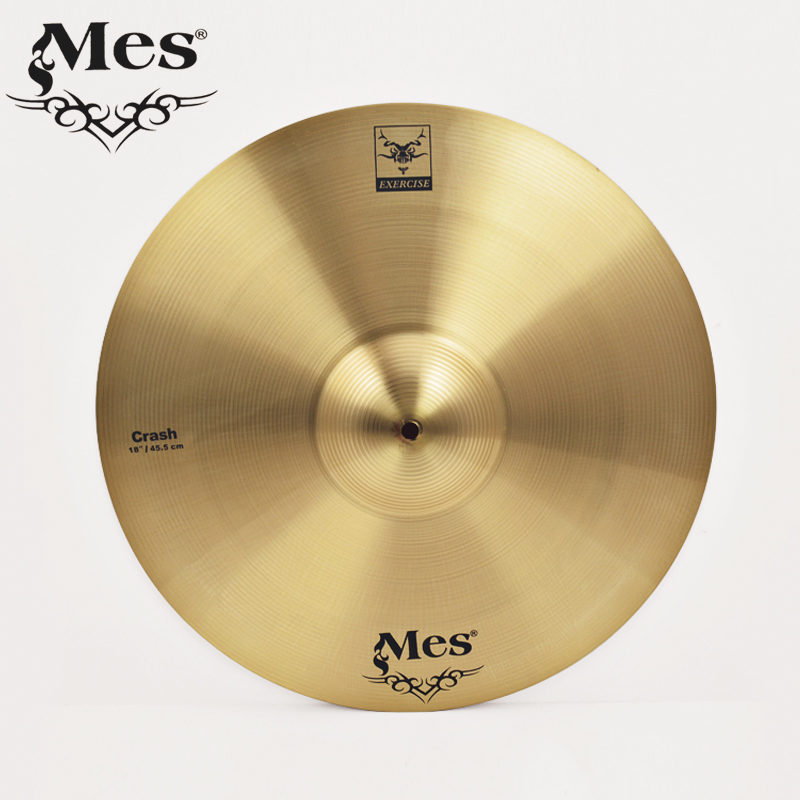 Hong kong mes q7 genuine special dedicated drum set standard 18 inch cymbal ride cymbal piece monolithic