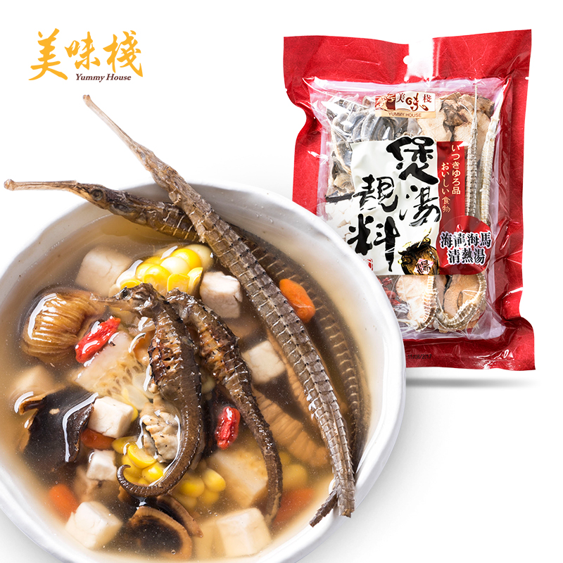 Hong kong's imports delicious stack hailong hippocampus 145g soup []