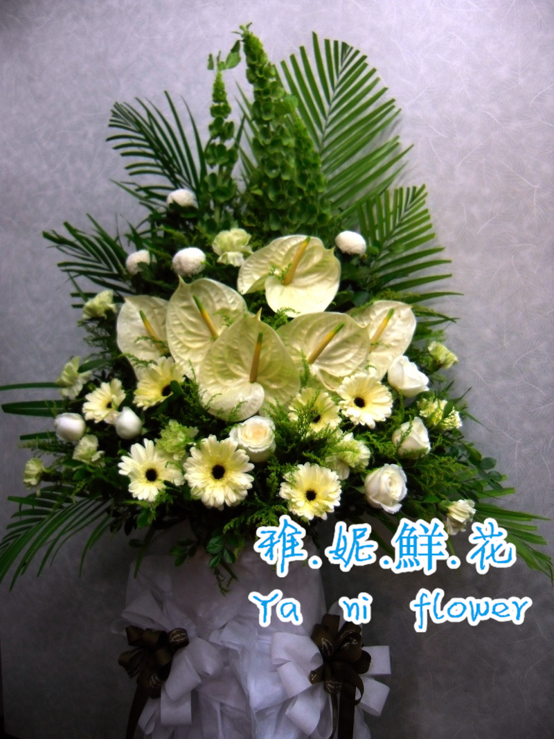 China funeral flowers china funeral flowers shopping guide at get quotations hong kongs sympathy flowers florist flower delivery instrument museum nosegay wreath izmirmasajfo