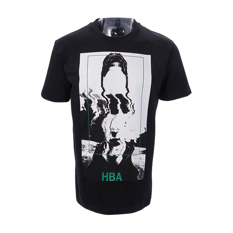 Hood by air genuine HBA16044002 new men's fashion round neck short sleeve t-shirt hong kong direct mail