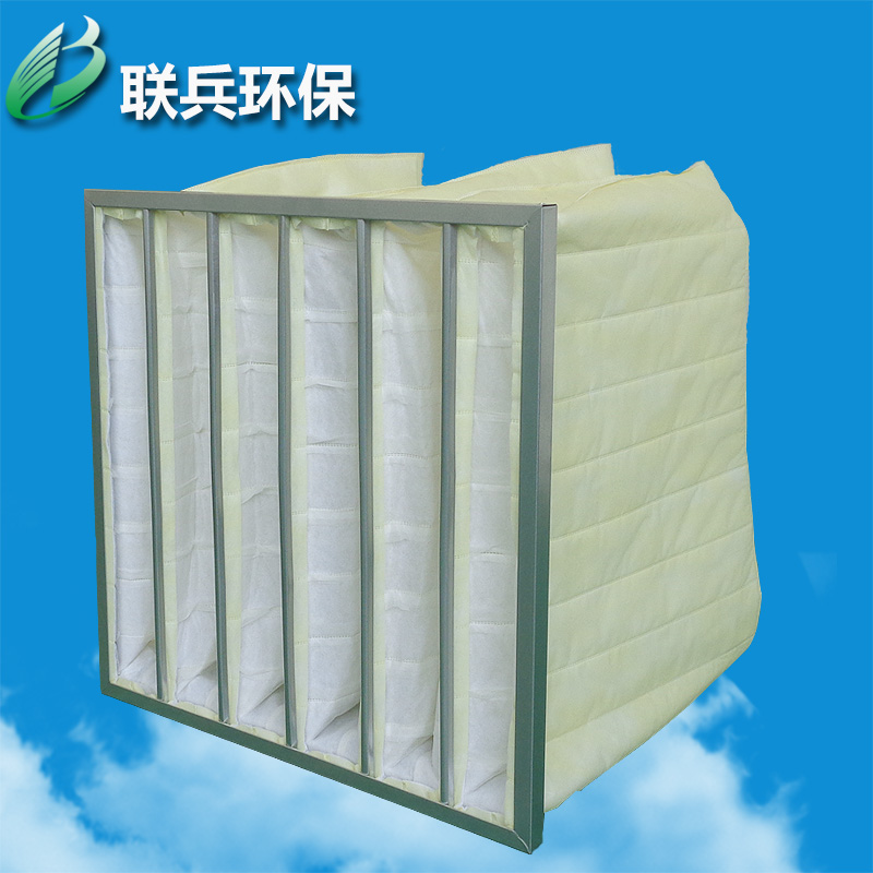 Hot air filter factory outlets in effect bag filter f8 efficiency filter bag filter
