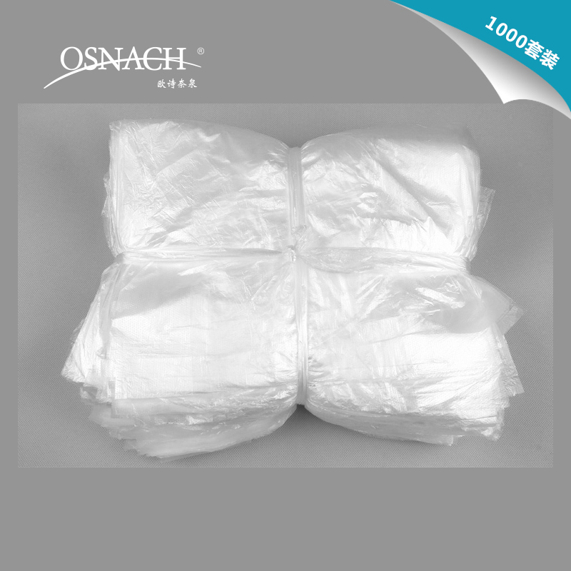 Hotel disposable garbage bags property hotel disposable supplies thicker white transparent garbage bags garbage bags with trash