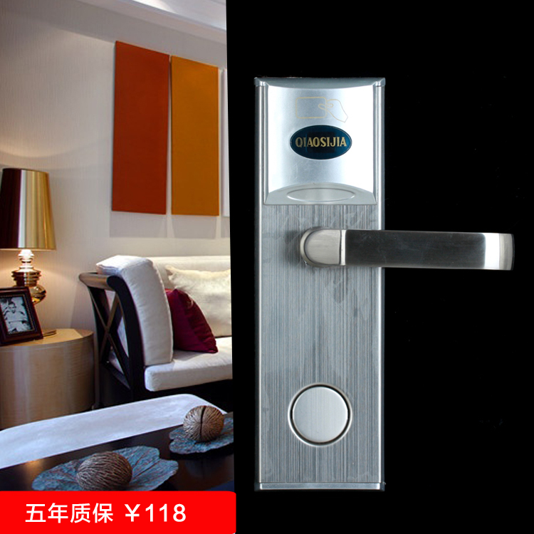 Hotel locks hotel door locks hotel door locks copper cylinder lock electronic sensors 5 year warranty