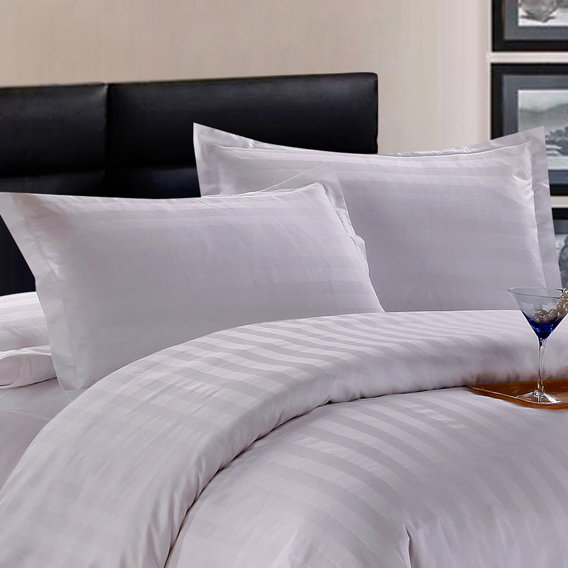 Hotels household white cotton 40 article 60 tc cotton three centimeters satin pillowcase cotton comfort a