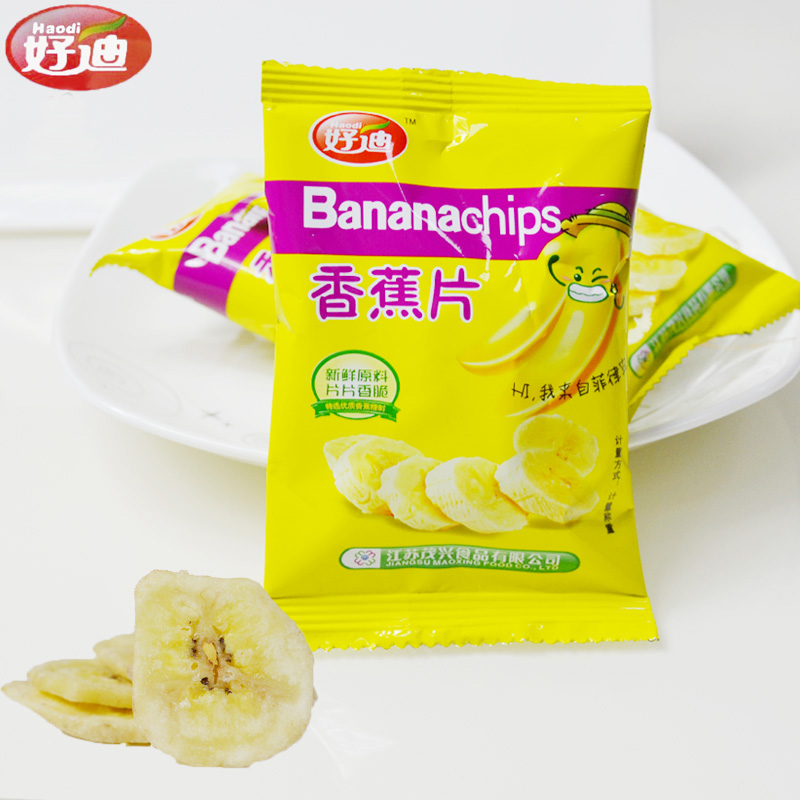 Houdy banana slices banana slices banana stem 500g leisure zero food shipping