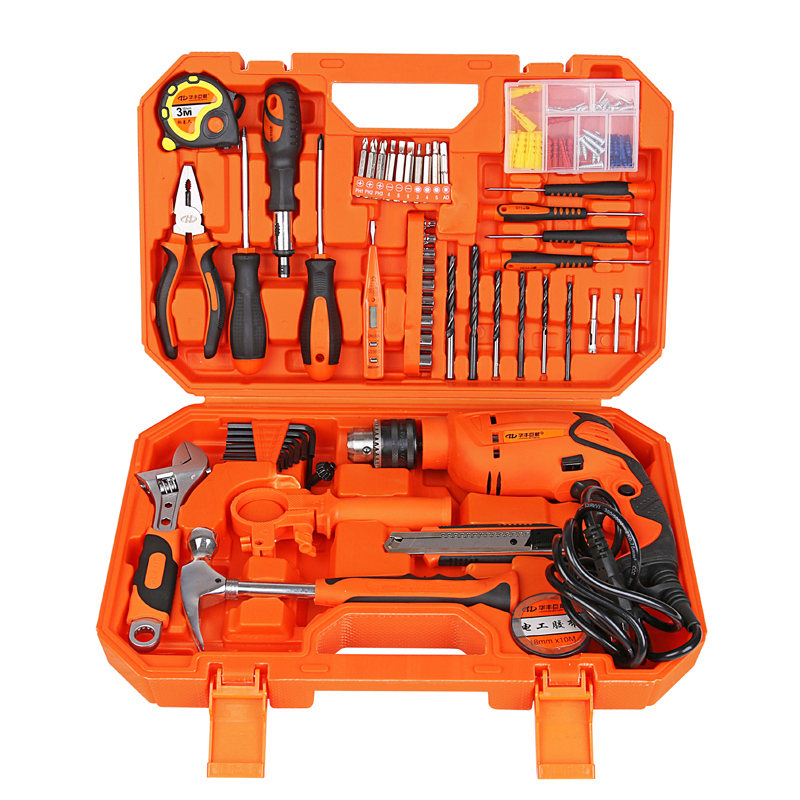 Huafeng giant arrow 111 home set drill drill screwdriver tool kit set home improvement tools