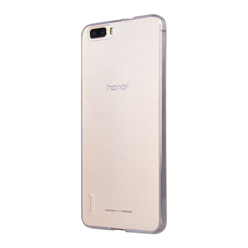 Huawei glory glory 6 plus phone sets protective sleeve shell thin transparent tpu soft shell soft cover the whole package drop resistance