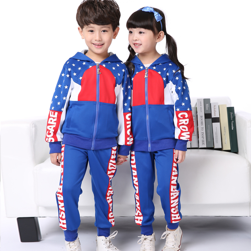 Hyun era uniforms custom children autumn models for boys and girls kindergarten serving primary and secondary school students sleeved sportswear uniforms