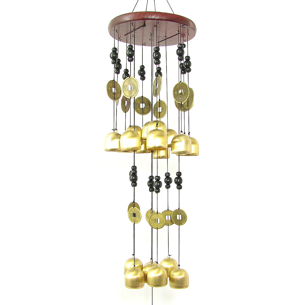 Hyun public court copper copper bell chimes pendant ornaments japanese wind chimes door trim edo japan aryoung ribbon metal wind