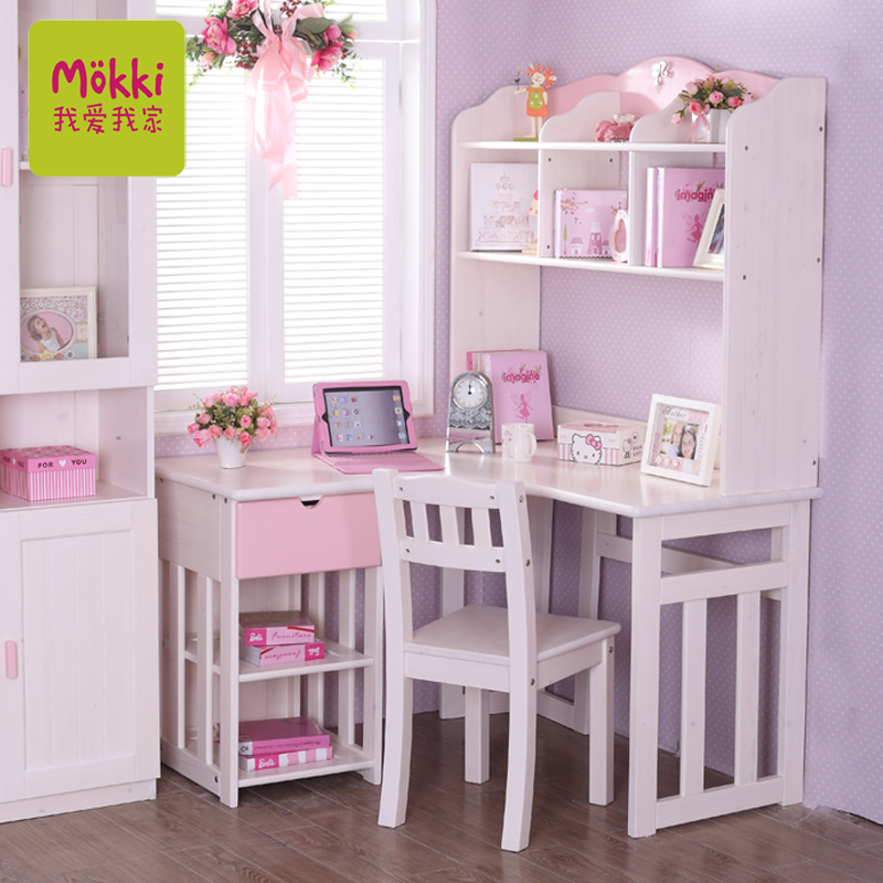 Get Quotations I Love My Children Home Furniture Finnish Pine Corner Desk Wood For To Learn