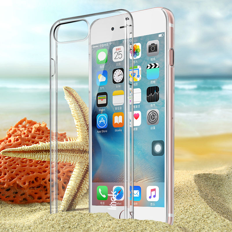 Imak apple iphone7plus iphone7 plus transparent hard shell phone shell mobile phone sets shell protective sleeve
