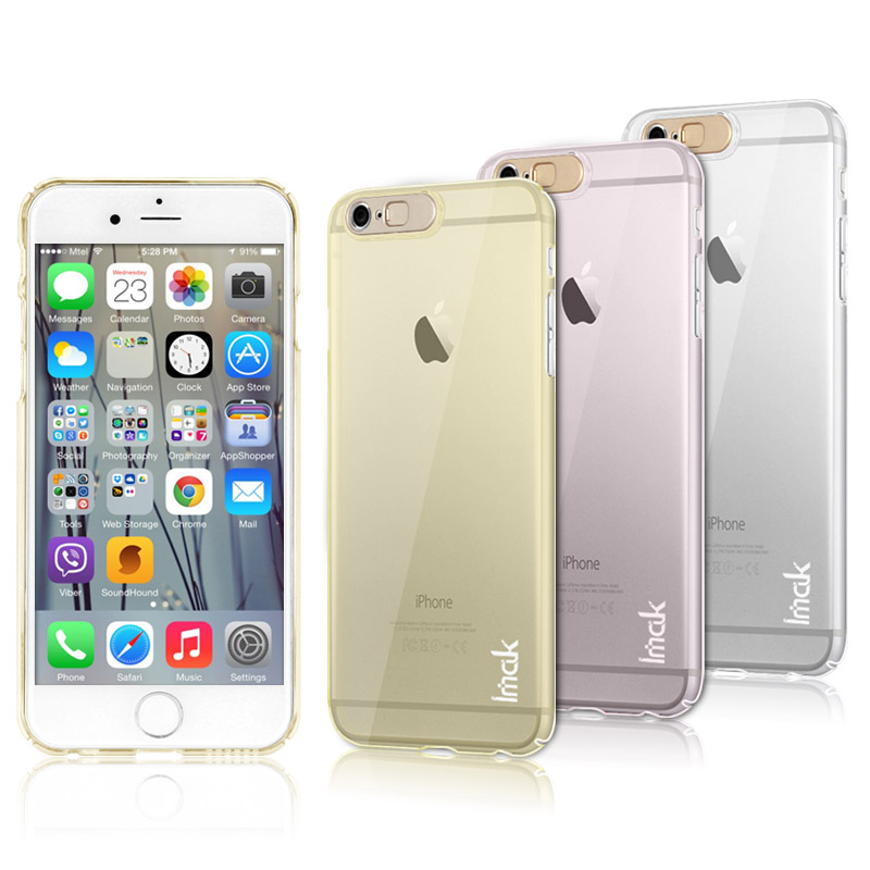 Imak apple s mobile phone shell mobile phone sets iphone6s iphone6 lightning flash protective shell after shell ip6