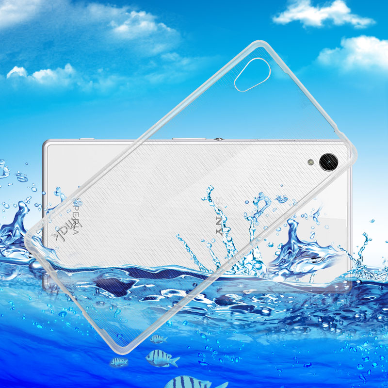 Imak sony z5 + Z5Premium mobile phone shell protective sleeve silicone soft case thin flexible waterproof seal