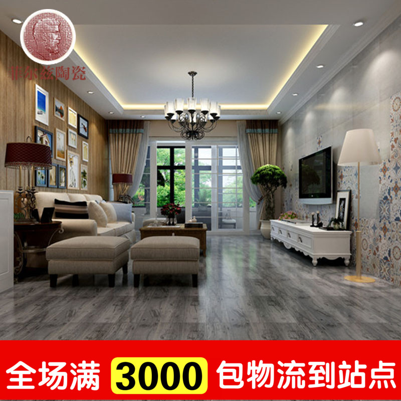 Imitation wood ceramic tile floor tile 600600 fields with a ceramic tile mosaic tiles culture stone antique brick tiles