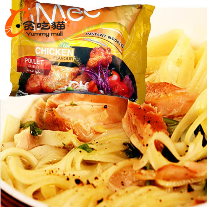 Imported from thailand imee chicken flavor instant noodles 70g * 5 packs of instant noodles instant noodles imported food