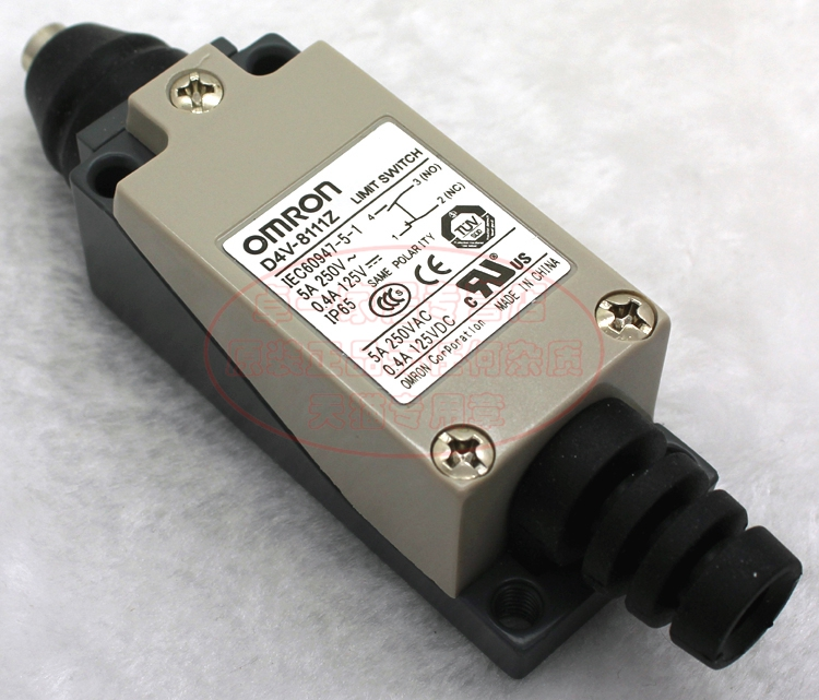 Imported genuine omron (shanghai) omron limit switch d4v-8111z (me tz 8111)