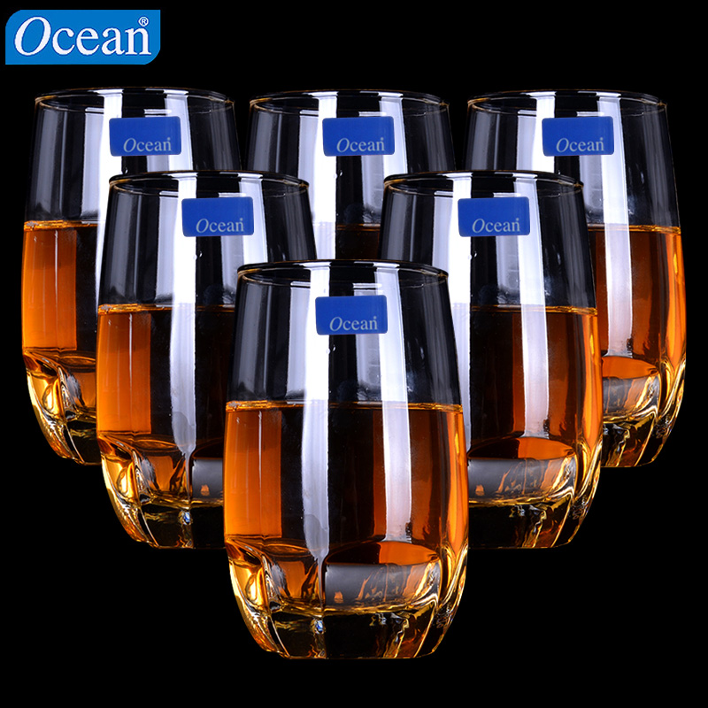 Imported ocean creative cup hot water plus ice shot glasses of whiskey glass cup suit